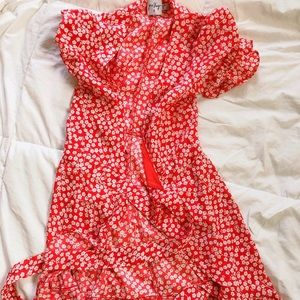 Princess Polly Dresses - Princess Polly Poppy Moore Mini Dress in Red